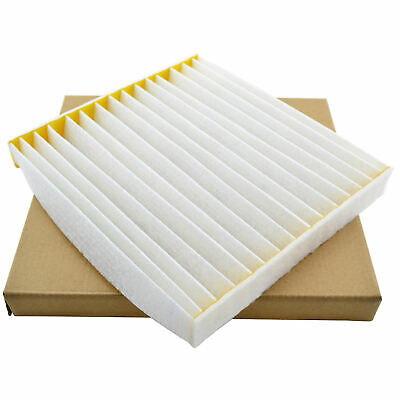 For Toyota Hilux Fortuner Corolla Camry Aurion RAV 4 White Cabin A/C Air Filter