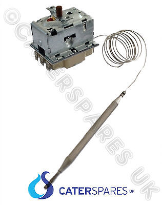 55.33542.090 Ego High Limiter Reset Thermostat Triple Pole 230°C Fryers 6 Pins
