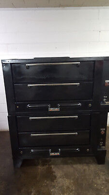 Garland G2771 Stone Deck Oven Natural Gas Tested 4 Decks
