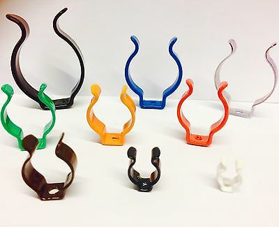 TERRY Clips OPEN TYPE To Grip 6mm to 40mm CHOICE 10 Finishes UK MADE Multi QTY