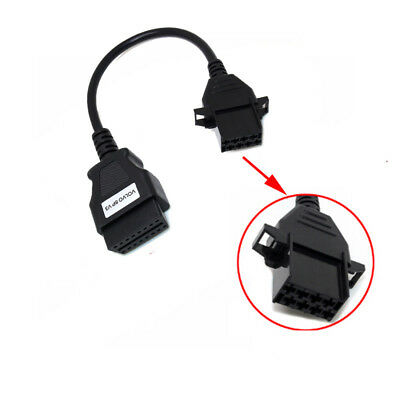 For Volvo 8 Pin to OBD2 16 Pin Female Truck Cable Diagnostic Adapter Connector