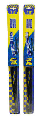 Vision Blades 18 Inch Windshield Wiper Blades All-Season (2 Pack) - NEW