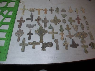 Metal detector finds. Mix lot (45 pieces).N14
