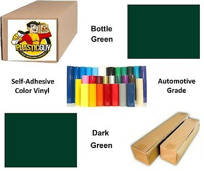 "Dark Green Self-Adhesive Sign Vinyl 24"" x 150 ft or 50 yd (1 Roll)"