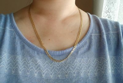 Solid 9ct yellow gold necklace