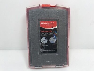 SHAVIV 90105 Standard Duty Deburring And Scraping Kit
