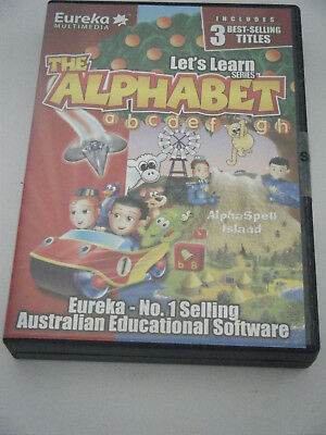 PC Game /  Learning.  Let's Learn the Alphabet.  3 disc set. Brand new