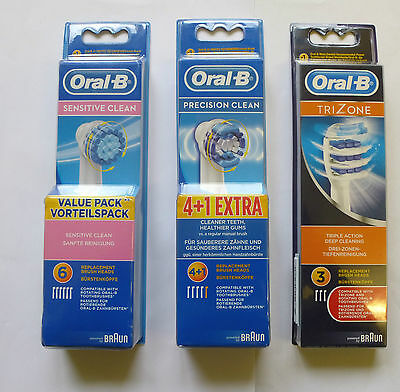 Oral B Tooth Brush Heads - Various Types Use The Drop Down Menu Please