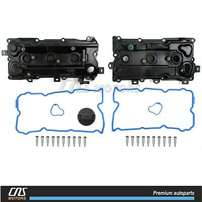 Engine Valve Cover Set for 2007-2014 NISSAN Altima Pathfinder INFINITI JX35 QX60