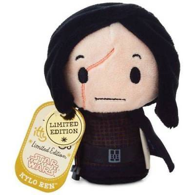 Hallmark Itty Bittys Kylo Ren NWT Limited Edition Last Jedi New Free Shipping
