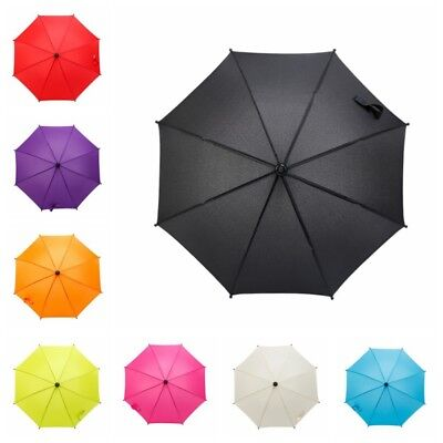 Baby Stroller Rain Umbrella Kids Pram Sun Shade Parasol Adjustable Folding+Clip