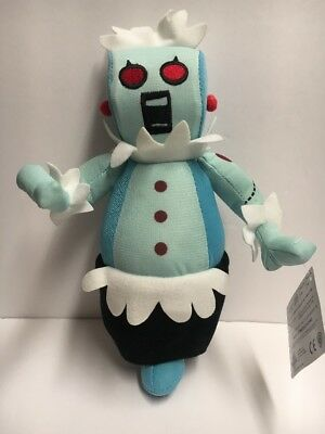 """Hanna Barbera The Jetson's Maid 8"""" Plush Rosie Robot with Tags Stuffed"""