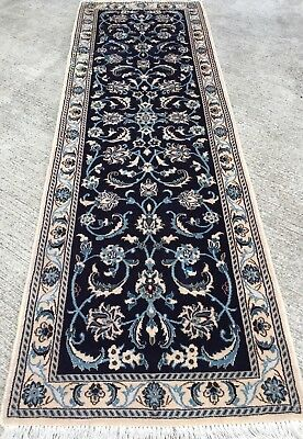 Tapis Chemin de Couloir pers Naïn 200x64cm galerie Tappeto Alfombra Rugs Teppich
