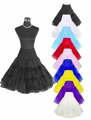 beautiful new organza tulle petticoat underskirt in stock regular/plus size Slip