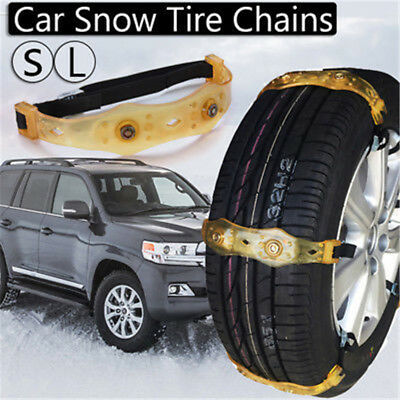 Winter Anti-skid Chains Car Truck SUV Snow Wheel Tyre Tire Thickened Tendon L
