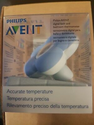 Philips AVENT SCH550/20 Digital Baby Bath and Bedroom Thermometer Temperature