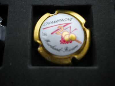 capsule de champagne an 2000 marchand riviere or