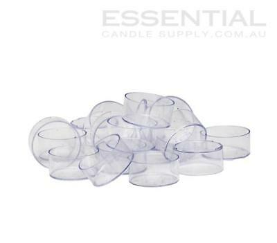 Plastic Tealight Cups Pack 50