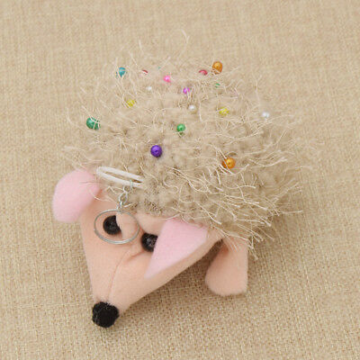 Cute Hedgehog Shape Pincushion with Cushion Pin Patchwork Holder Crafts & Sewing