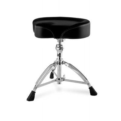 Mapex T765RED Drum Stool Throne Saddle Red Cloth Top T765ASER