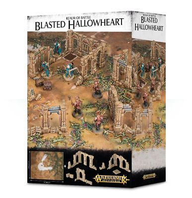 Realm of Battle Blasted Hallowheart Games Workshop Age of Sigmar AoS Spielfeld