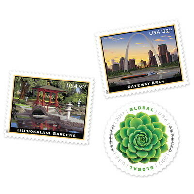 USPS New 2017 High Value Packet