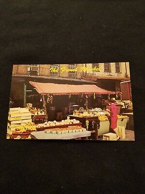 The French Market New Orleans Louisiana - Old Postcard Unused P77179