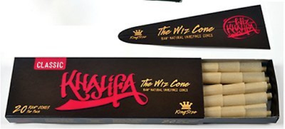 Wiz Khalifa RAW Classic Natural Unrefined Pre-rolled Cones - King Size 110mm - -