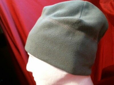 US Military Army Green Fleece Cap Polartec, gently used