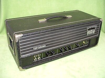 ROY TOP SOUND NB 300 ViNTAGE Bass Organ Amplifier TUBE Head VINTAGE RÖHREN AMP