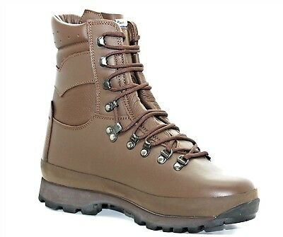 British Army Issue Alt-Berg Boots - Brown - All Sizes - Genuine - Grade 1 Used