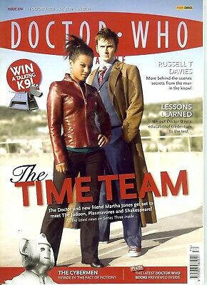 DOCTOR WHO MAGAZINE 374 (Oct 2006) Russell T Davies interview