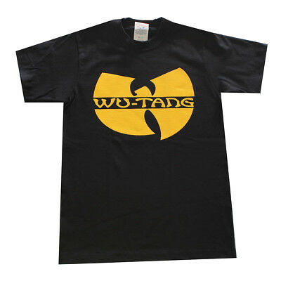 Wu- Tang Graphic Kids Tee Shirt Black