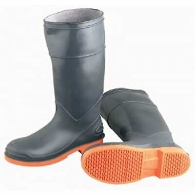 "NEW Onguard Industries 87983 16"" Sureflex PVC Nitrile Work Boots Gray Size 07"
