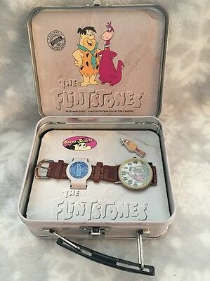 The Flintstones Watch & Pin Fred Dino Limited Edition