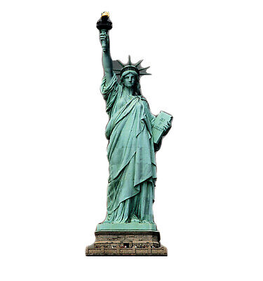 Statue of Liberty Lifesize Cardboard Cutout Standee Stand Up Poster