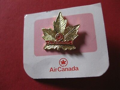 Air Canada Maple Leaf Pin Back  New