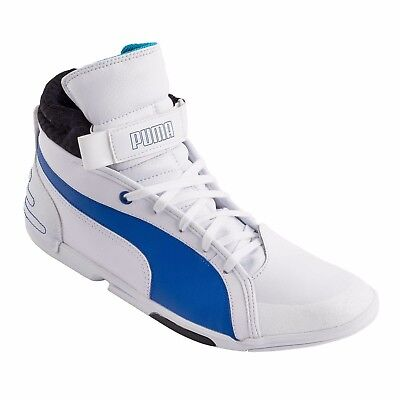 Puma Xelerate Mid DC1 Motorcycle Ankle Trainers White 9UK (43 10 28 Boots  Shoes) 57137070c