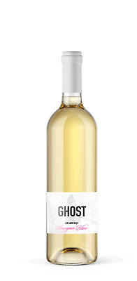 Sauvignon Blanc Ghost Wines 2017 Adelaide Hills Single with temperature labels