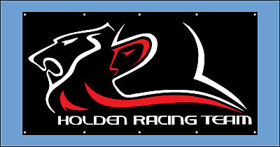HSV Holden Racing Team Vinyl Banner Flag Poster Sign 1800x1000mm Fast Delivery