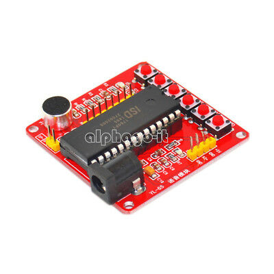 DC 5V ISD1700 Series Voice Record Play ISD1760 Module For AVR Arduino PIC