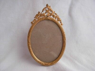 ANTIQUE FRENCH GILT BRONZE BRASS PHOTO FRAME,LATE 19th CENTURY.