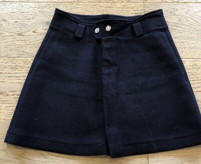Women's Clothing Skirts Boden Ladies Size Us 10r Naomi A-line Skirt Navy Blue Wg697