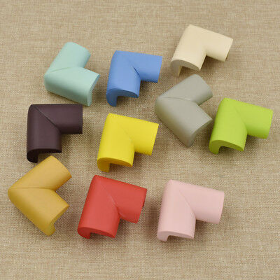 10pcs Table Edge Protector Angle Baby Proofing Corner Kid Safety Soft Foam Guard
