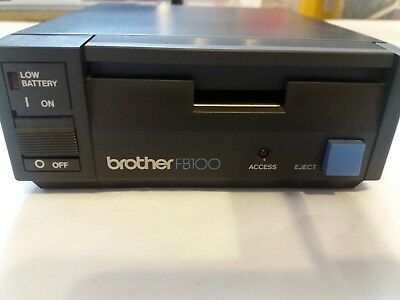 Brother Knitting Machine Parts Accessories Fb100 Disk Drive Untested Spares Only