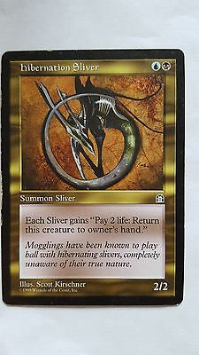 1x HIBERNATION SLIVER - Rare - Stronghold - MTG - NM - Magic the Gathering