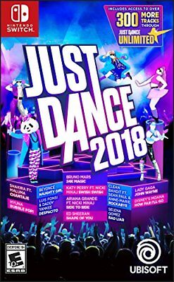 Just Dance 2018 - Nintendo Switch New I