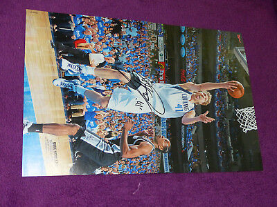 TOP Poster A3 DIRK NOWITZKI Basketball NBA - original signiert