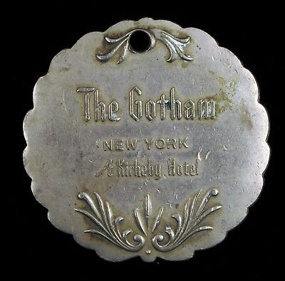 New York City The Gotham Hotel Key Fob The Peninsula Historic Manhattan Kirkeby