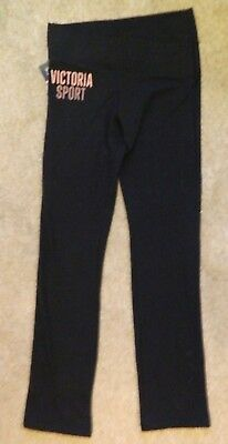 Victoria's Secret Sport Yoga Pants Black New  With Tags Size Small